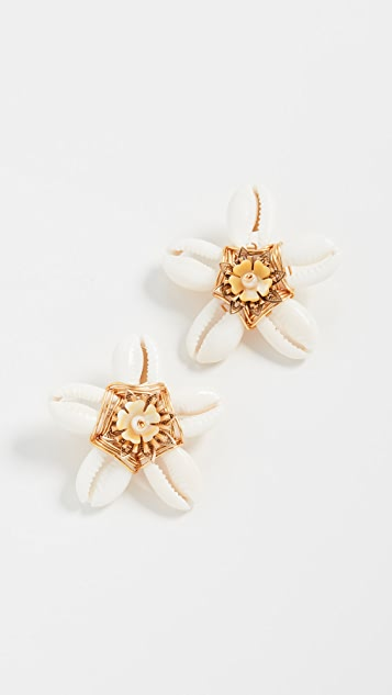 Brinker & Eliza Aloha Stud Earrings
