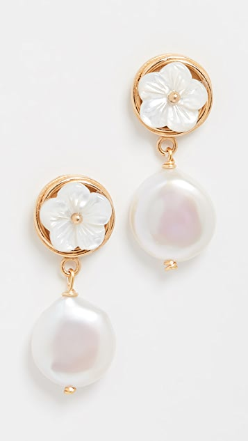 Brinker & Eliza Buttercup Earrings