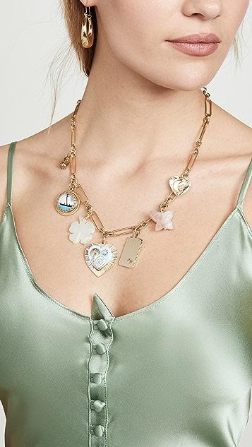 Brinker & Eliza Mischief Managed Charm Necklace