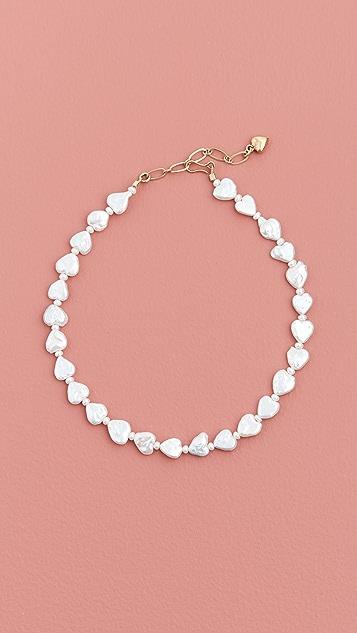 Brinker & Eliza Love Struck Pearl Necklace