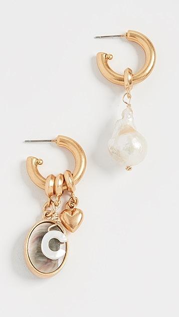 Brinker & Eliza Persona 圈式耳环