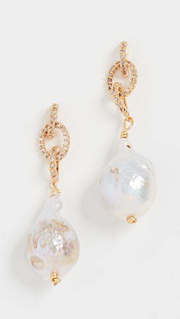 Brinker & Eliza Luna Earrings