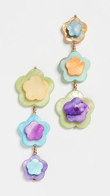 Brinker & Eliza Tutti Fruity Earrings