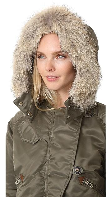 Belstaff Bovet Jacket with Fur