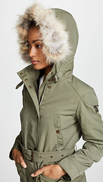 Belstaff Fairlead Jacket with Fur
