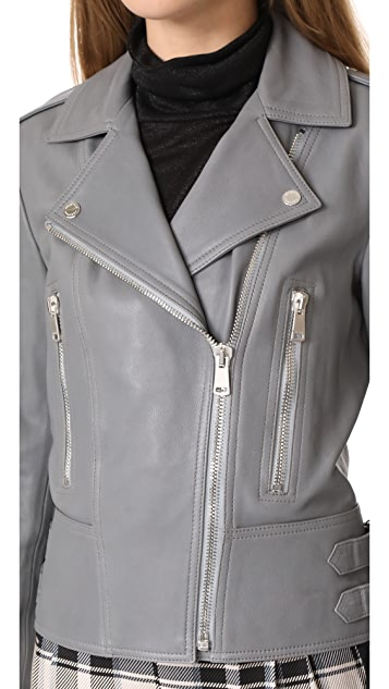 Belstaff Marvingt Polished Lambskin Jacket