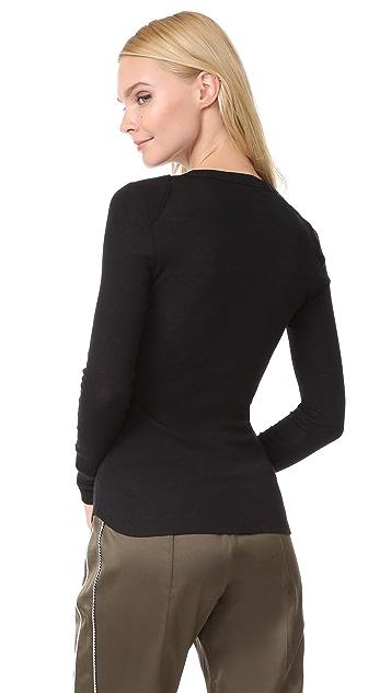 Belstaff Marella Ribbed Wool Shirt