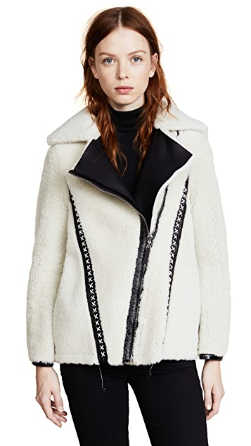 Belstaff Elmington Shearling Jacket