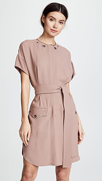 Belstaff Darcie Shirtdress - Old Rose