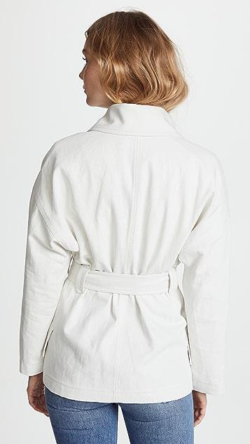 Belstaff Clonmore Cotton Linen Jacket