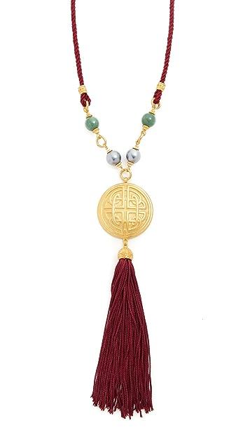 Ben-Amun Y Tassel Necklace