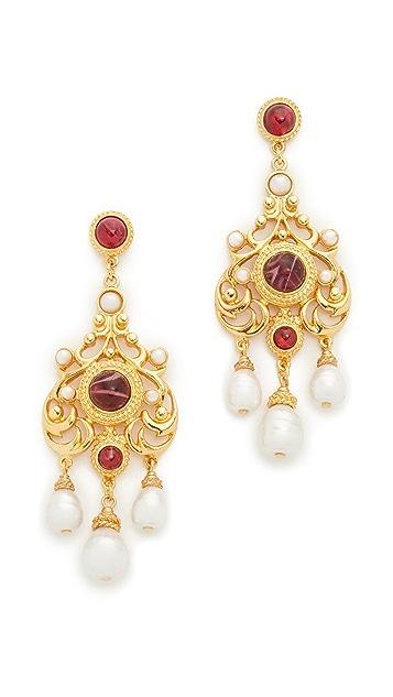 Ben-Amun Ruby Lou Earrings