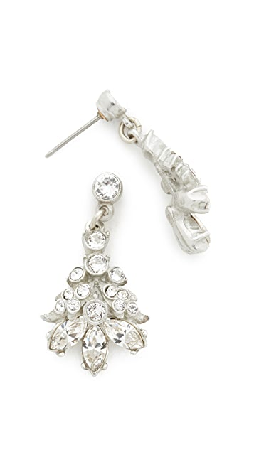 Ben-Amun Embellished Cluster Earrings