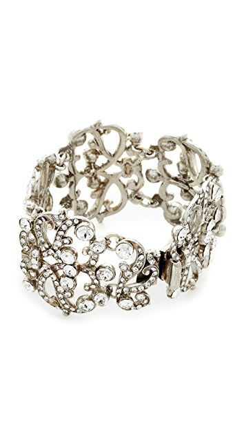 Ben-Amun Lace Station Wide Bracelet