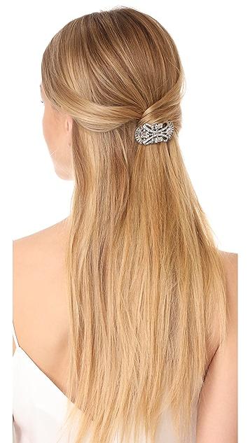 Ben-Amun Crystal Deco Hair Clip
