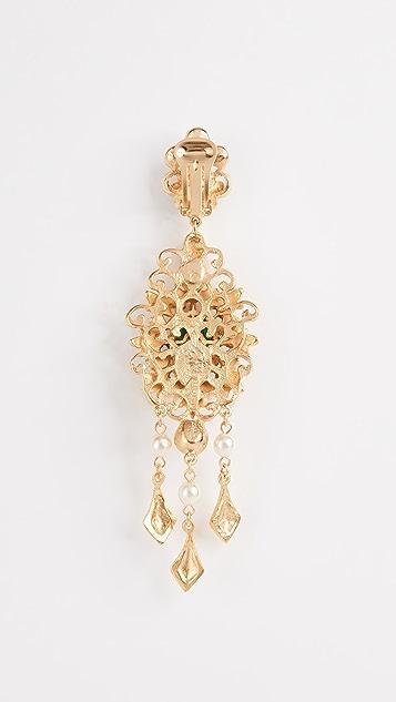 Ben-Amun Chandelier Earrings