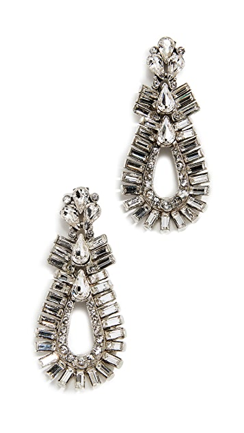 Ben-Amun Double Oval Post Earrings
