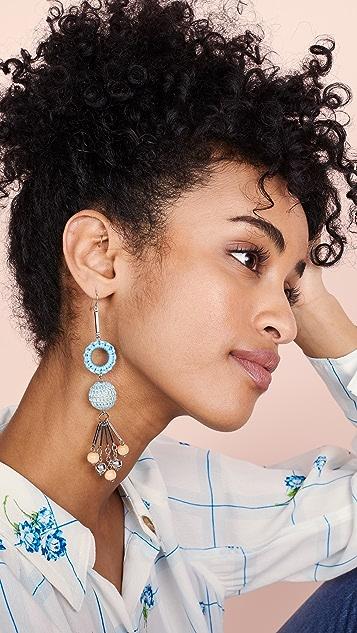 Ben-Amun Chloe Earrings