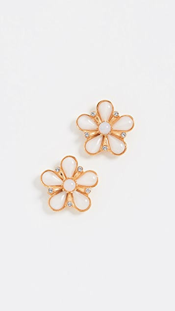 Ben-Amun Floral Post Earrings