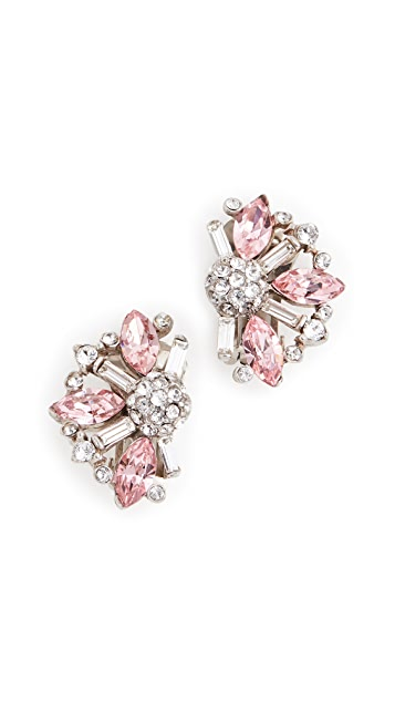 Ben-Amun Colored Cluster Crystal Studs