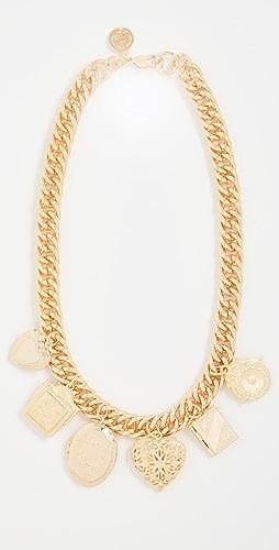 Ben-Amun - Gold Charm Necklace