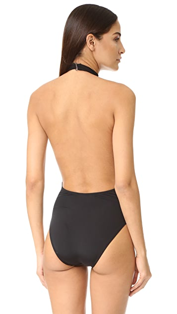 Beth Richards Stella Plunge Neck One Piece