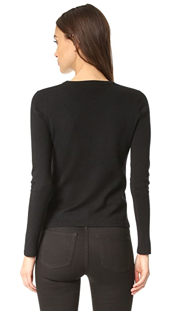 Bella Freud Sparkle Good Times Cashmere Sweater