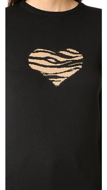 Bella Freud Tiger Heart Sweater