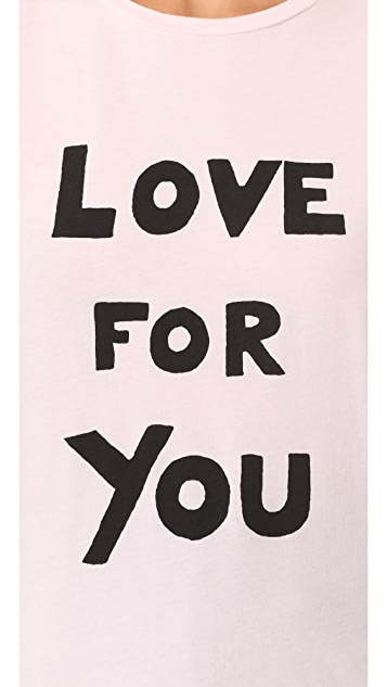 Bella Freud Love For You T-Shirt