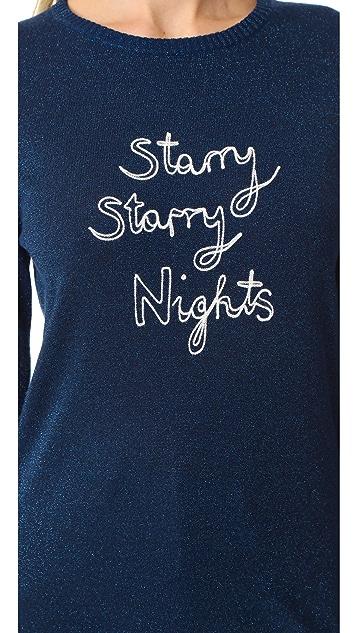 Bella Freud Starry Starry Nights Sweater