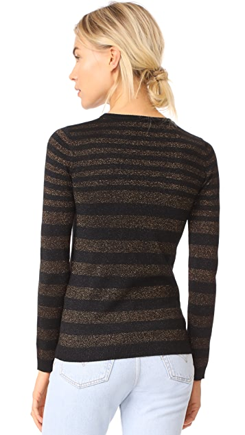 Bella Freud Deep Disco Stripe Jumper