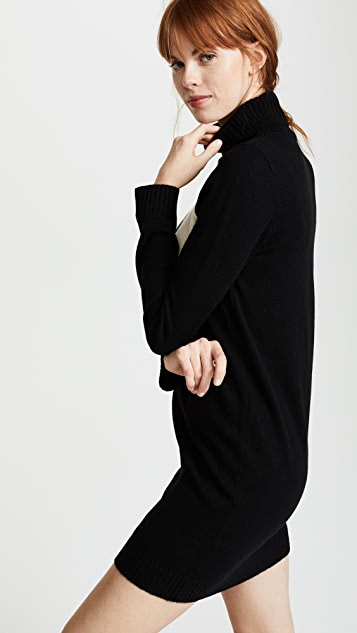 Bella Freud 1970 Turtleneck Dress