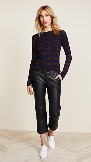 Bella Freud Deep Disco Stripe Sweater