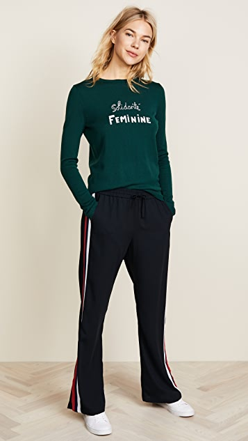 Bella Freud Solidarité Feminine Jumper