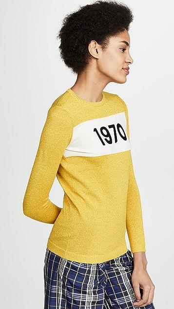 Bella Freud 1970 Sparkle Crew Sweater