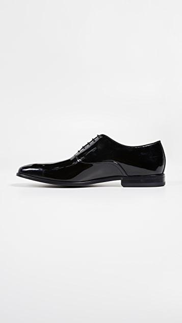 BOSS Hugo Boss Highline Patent Oxford Lace Up