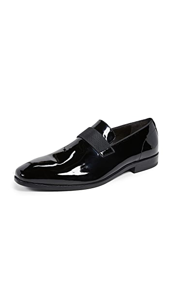 BOSS Hugo Boss Highline Patent Slip-On Loafers