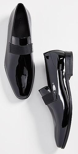 BOSS Hugo Boss - Highline Patent Slip-On Loafers