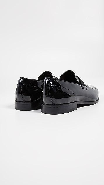 BOSS Hugo Boss Highline Patent Slip-On Loafers
