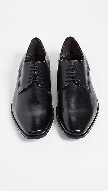 BOSS Hugo Boss Highline Plain Toe Derby Shoes