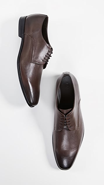 BOSS Hugo Boss Highline Plain Toe Derby Shoes
