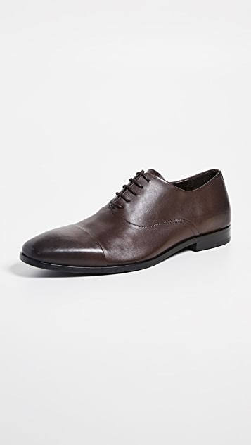 BOSS Hugo Boss Highline Cap Toe Derby Lace Up Shoes