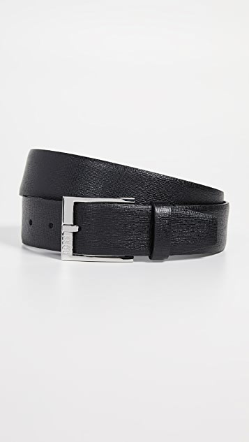 BOSS Hugo Boss Clo Embossed Leather Belt