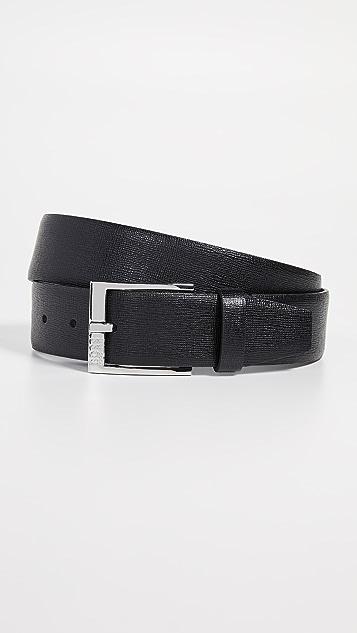 BOSS Hugo Boss Clo Embossed Leather Belt