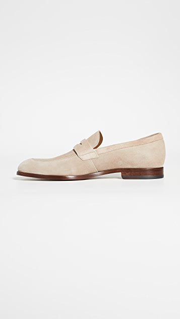 BOSS Hugo Boss Brighton Suede Loafers