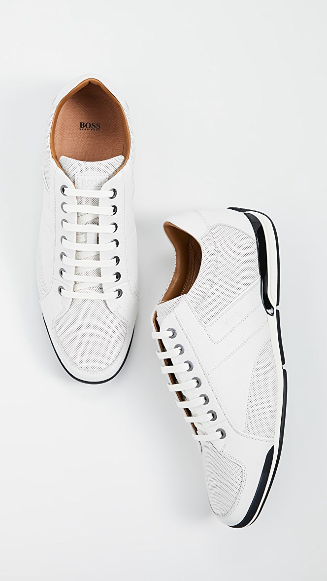 best loved wide selection of designs modern techniques BOSS Hugo Boss Saturn Low Profile Sneakers   EASTDANE SAVE ...
