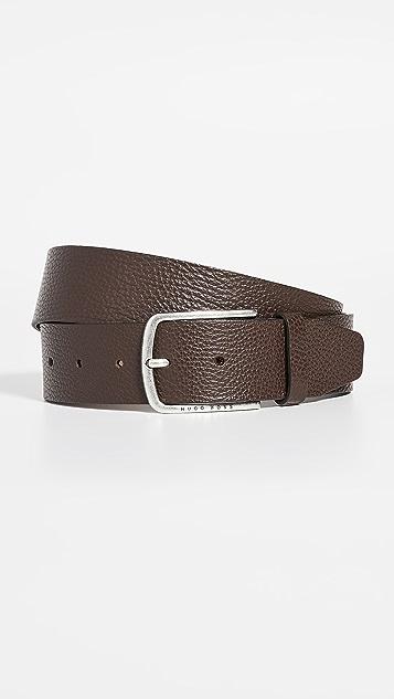 BOSS Hugo Boss Sander Grainy Leather Belt