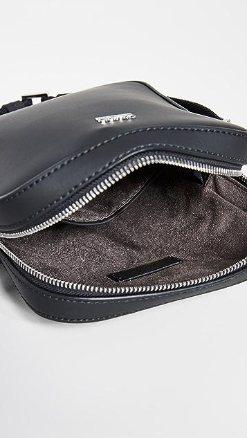 BOSS Hugo Boss Signature Rubberized Small Crossbody Bag