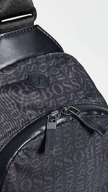 BOSS Hugo Boss Lighter Nylon Sling Bag