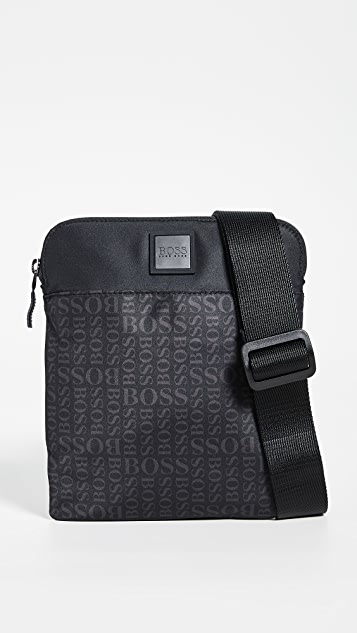BOSS Hugo Boss Lighter Nylon Small Crossbody Bag